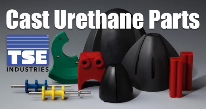 Cast urethane parts