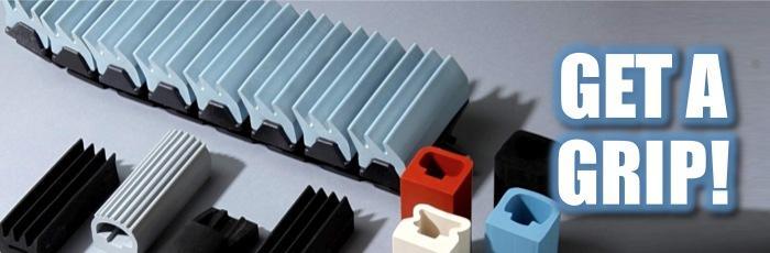 rubber conveyor grippers