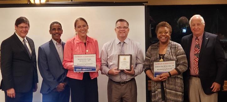 TSE awards Manufacturing Partner of the Year.